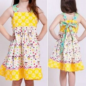 Jelly the Pug Kokeshi Boutique Knot Dress